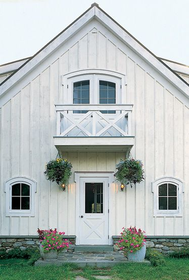 If I had a barn, it would look like this...