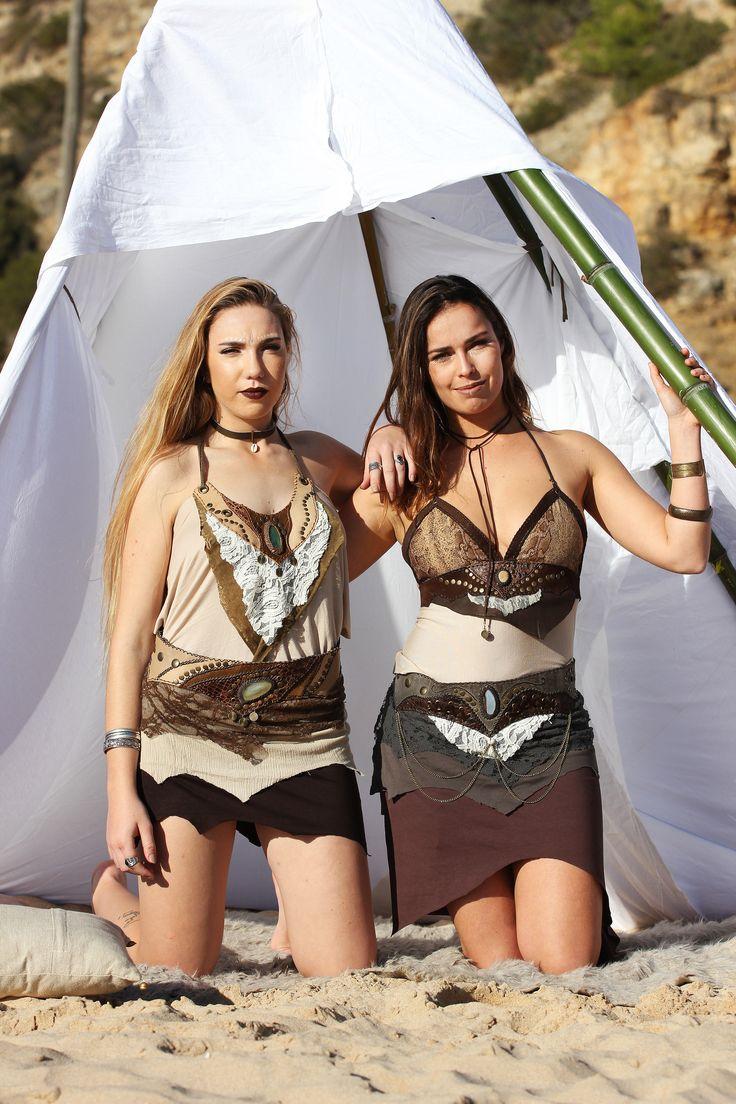Boho Girls ~> Boho Tipi Bohemian Gypsy Photoshoot decor handmade clothes leather