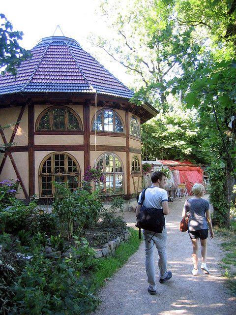 Inside Freetown Christiania, Copenhagen, Denmark