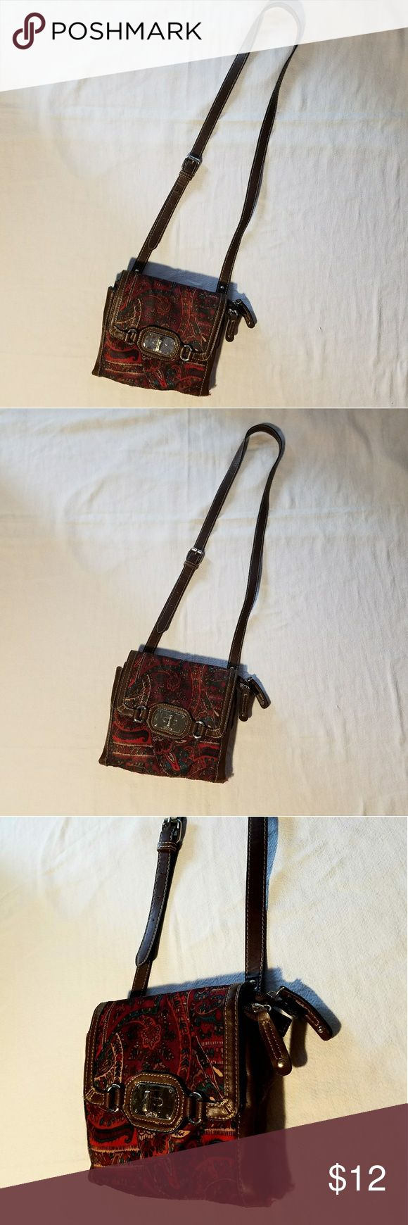 Chaps Bohemian Hippy Cross Body Purse ~Chaps Bohemian Hippy Cross Body Purse~ ~Measurements: Coming Soon  ~Feel free to ask Questions and Make an Offer~ ~Stock #: Chaps Bags Crossbody Bags