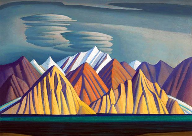 "LAWREN  HARRIS:  ""Bylot Island I"".  One of the artists in the Group of Seven"