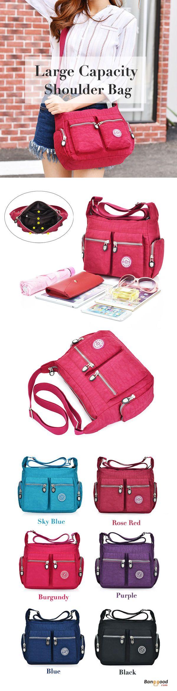 US$19.45+Free shipping. Women Bags, Waterproof Crossbody Bags, Casual Bags, Chest Bags, Multifunction Handbag, Backpack, Shoulder Bags. Waterproof, Large Capacity. Color: Black, Blue, Purple, Sky Blue, Rose Red, Burgundy.