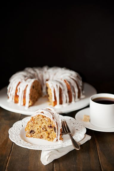 double apple bundt cake recipe | use real butter