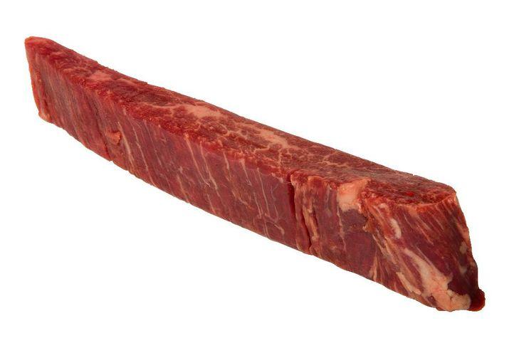 Flankensteak | Culinaire Toppers Zeer smakelijke biefstuk met iets meer bite dan een entrecote. Ook geschikt voor stoven en Japanse teriyaki spiesjes.