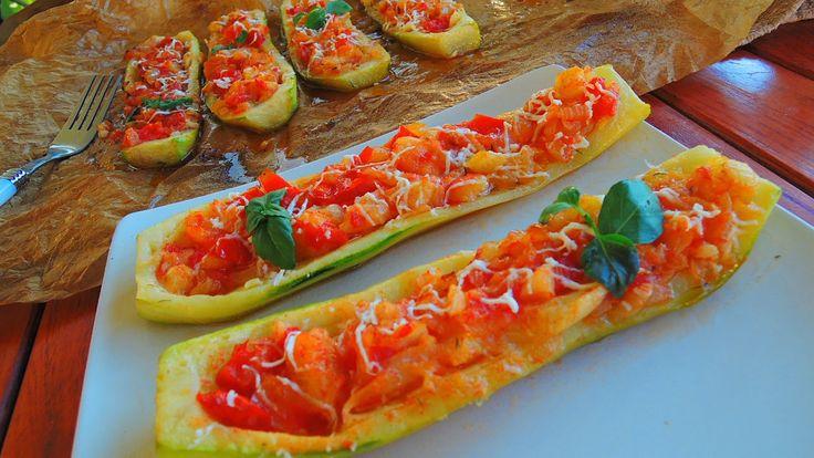 Rasfat de weekend: Zucchini umpluti la cuptor