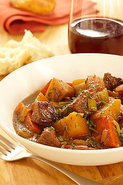 Veal and Root veg stew This simple stew is bursting with the sweet flavour of root vegetables, complemented by the mild taste of tender Ontario veal. The late addition of the carrots, parsnips and turnips allows them to ...
