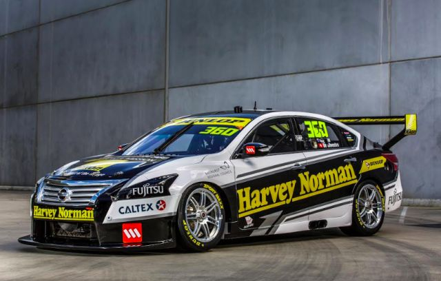 The #360 Altima will test at Winton this week