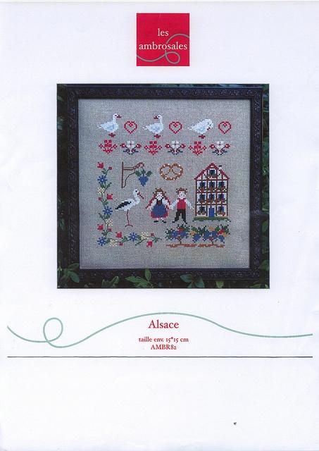 14 best alsace cross stitch images on pinterest - Bebe 9 vendenheim ...