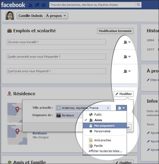 Facebook : se protéger des indiscrétions du moteur de recherche