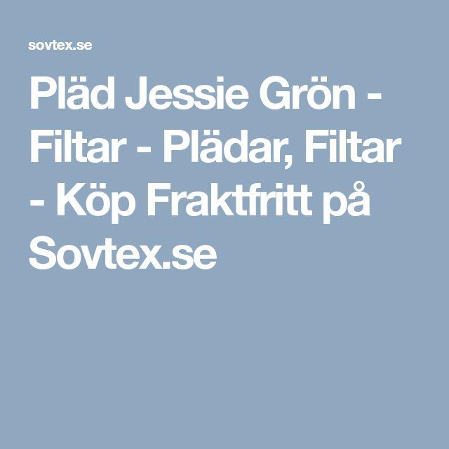 Pläd Jessie Grön - Filtar - Plädar, Filtar - Köp Fraktfritt på Sovtex.se