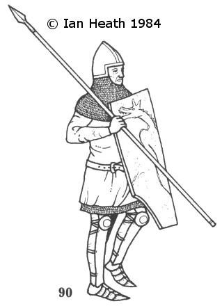 HUNGARIAN FOOT-SOLDIER c. 1380
