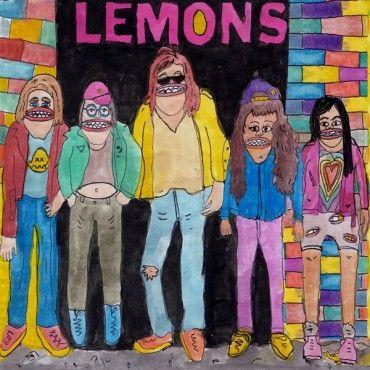 The Lemons - Hello We're The Lemons - LP Burger Records