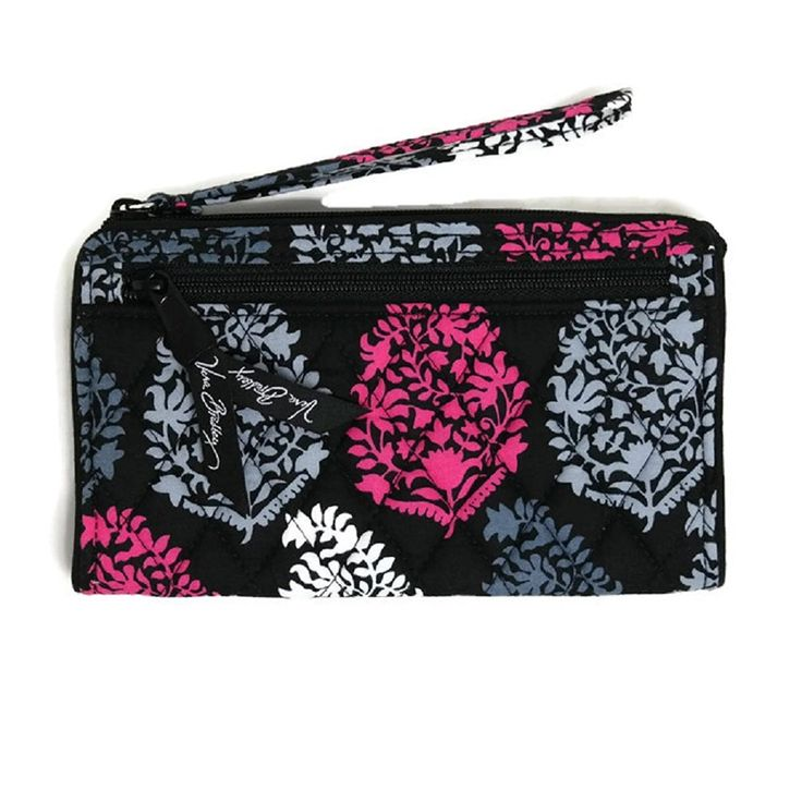 Vera Bradley Front Zip Wristlet in Northern Lights * Continue to the product at the image link.