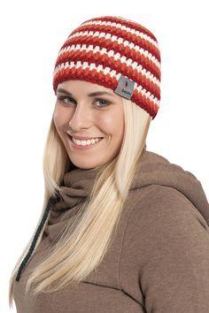 Suita - virkad mössa för flickor myboshi | Novita knits