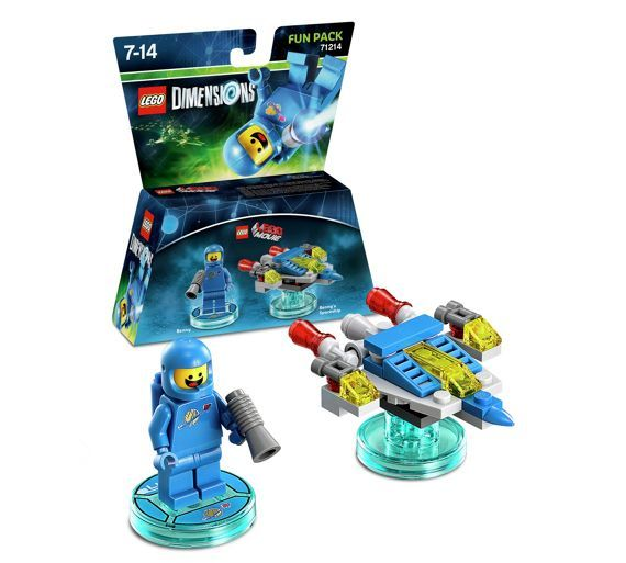 Buy LEGO Dimensions: Benny Fun Pack at Argos.co.uk - Your Online Shop for Lego Dimensions, Toys to Life, Video games and consoles, Technology.