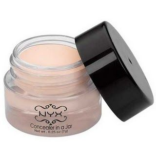 NYX Concealer in a Jar. Dupe for Benefit Erase Paste. No way!! I spent $26 for the Benefit...took it back ~K