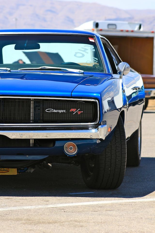 Blue Dodge Charger R/T #dodge #charger