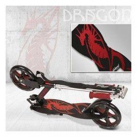 Potkulauta - Dragon, 99,95 €. Uusi potkulauta Physionicsiltä. Potkulaudassa on uniikki muotoilu. Ajellessa potkulautaa se pitää sinut kunnossa olit sitten iso tai pieni. Ilmainen kotiinkuljetus! #dragon #lohikäärme #potkulauta