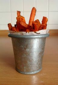 bite these goodies: Baked Carrot Fries | Marchewkowe frytki