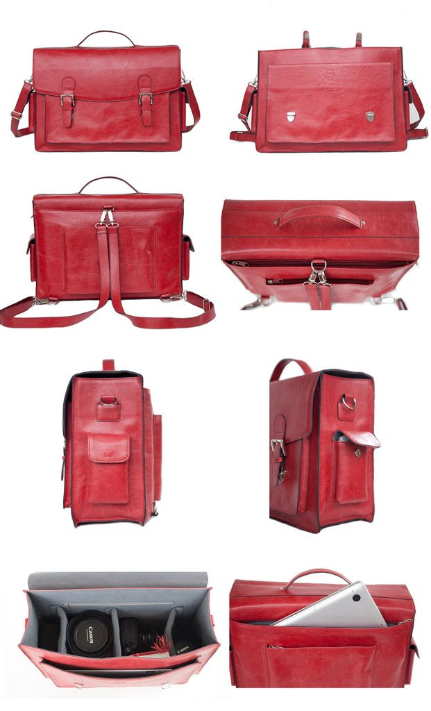 Locho Satchel - Red