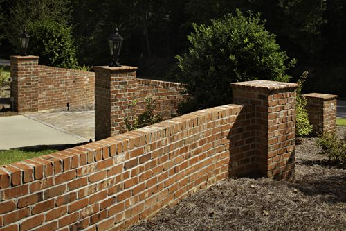 Elegant Brick Is Durable; It Needs Little To No Maintenance Over The Years. Brick  Is Beautiful; Special Shape Brick Coping And Rowlock Coping Bring Charactu2026 Design Ideas