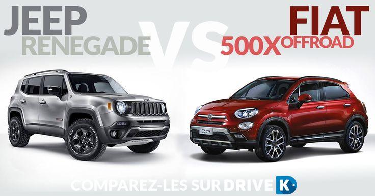 Fiat 500X est en promotion au même prix que Jeep Renegade : quelle est la meilleure? #comparateur #automobile