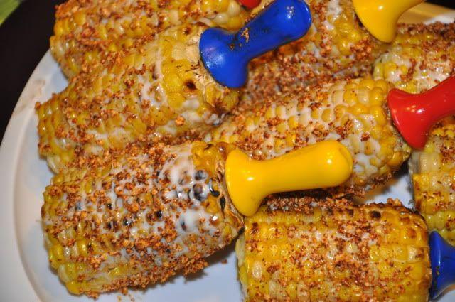 Big T's Big Green Egg Recipe Blog: Grilled Mexican Corn