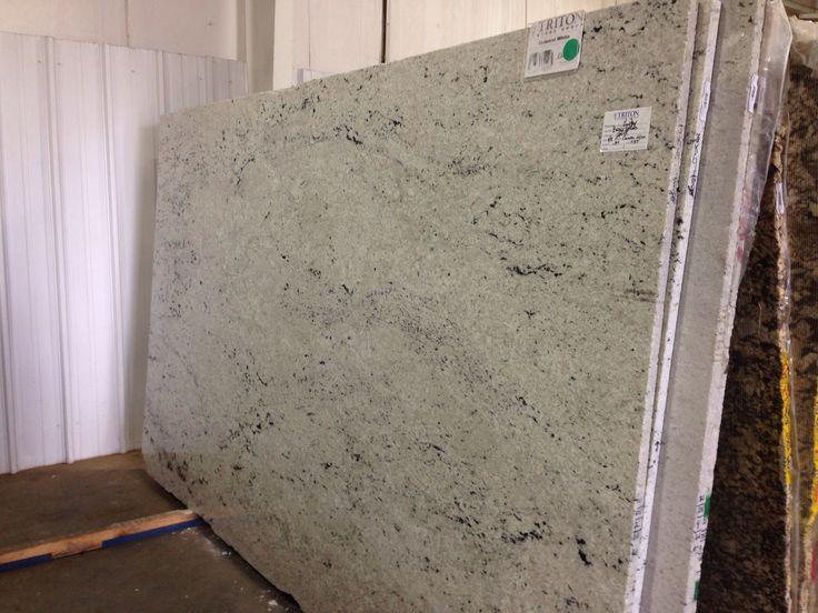Gray And White Granite Kitchen