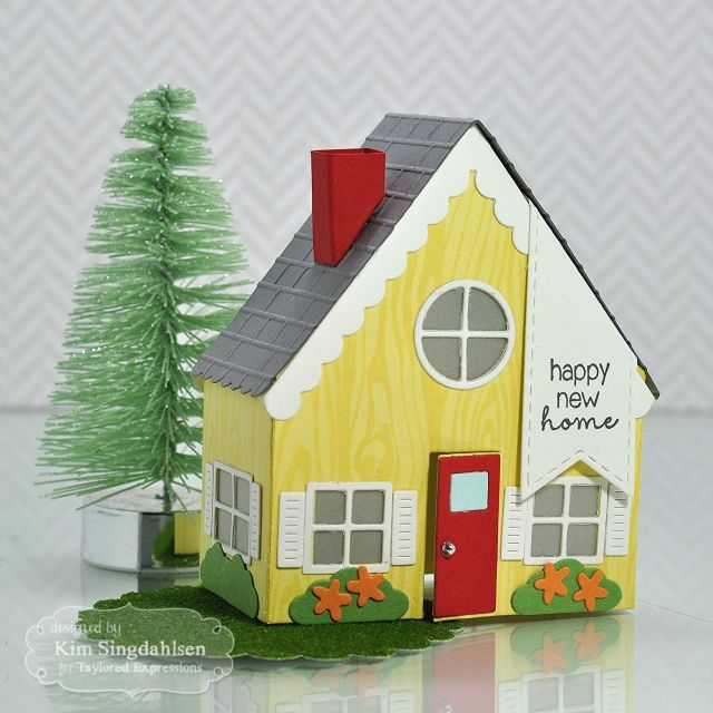 74 best new home images on pinterest paper houses card for Home craft expressions decor