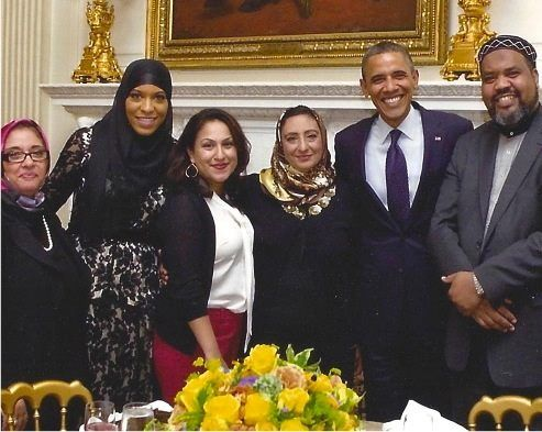 Image result for ibtihaj muhammad barack obama