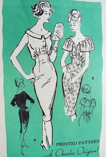 New photos on this wiki - Vintage Sewing Patterns, 812j27.JPG