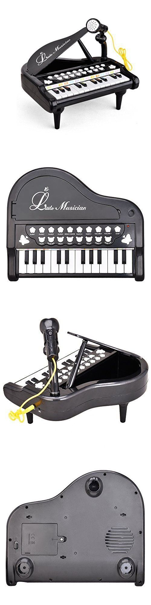 Developmental Baby Toys 100227: 24 Keys Keyboard Mini Piano Music With Microphone Function For Toddler Kid Baby -> BUY IT NOW ONLY: $31.36 on eBay!