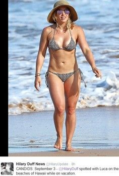 Hilary Duff rocks bikini body weight loss: Her diet and workout secrets