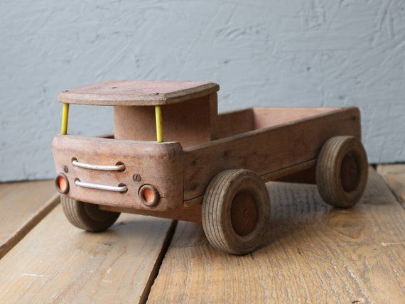 Nice Antique Wooden Toy Truck Products Wooden Toy Trucks Wooden