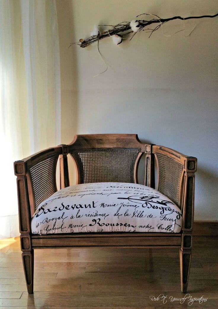 Fake Antique #DIYLikeaBoss. Cane FurnitureSmall ...