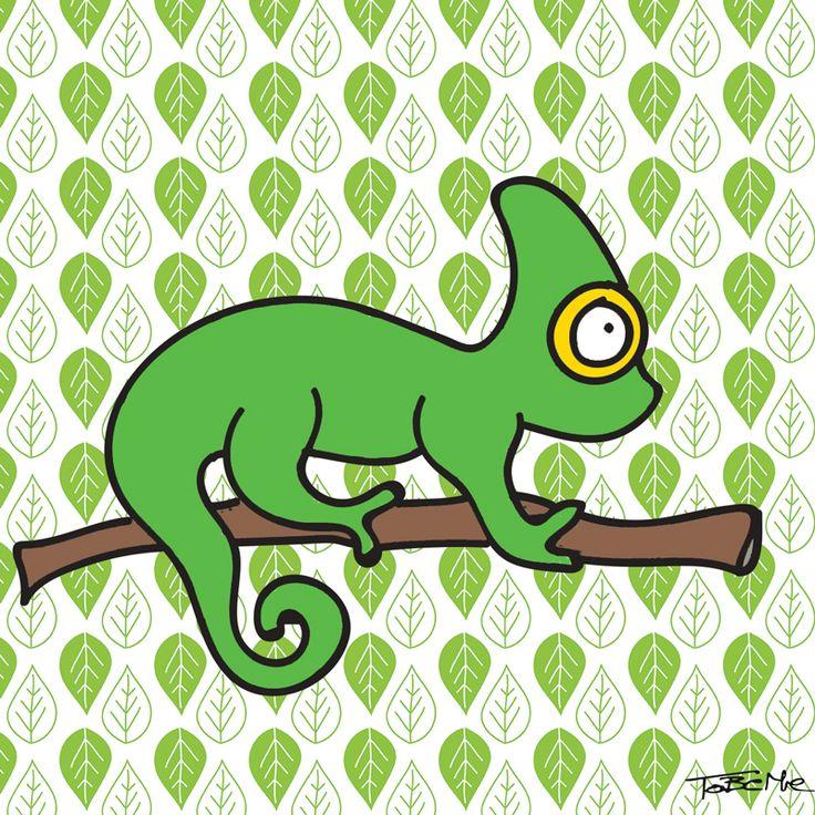 Super chameleon goes green!