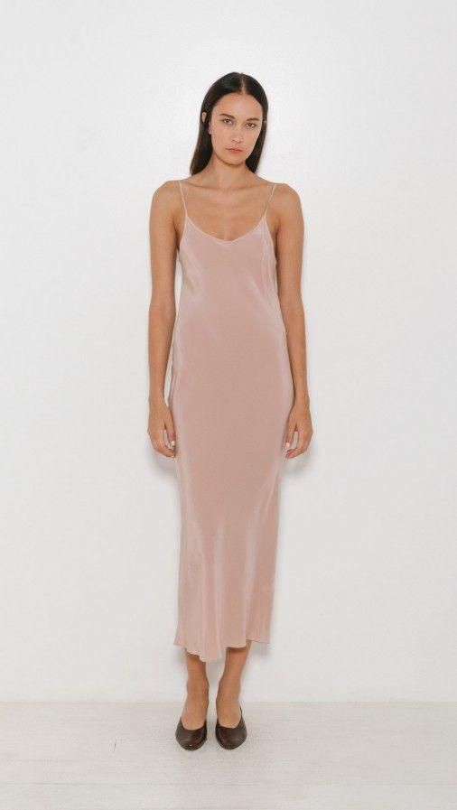 Ryan Roche Silk Slip Dress | The Dreslyn