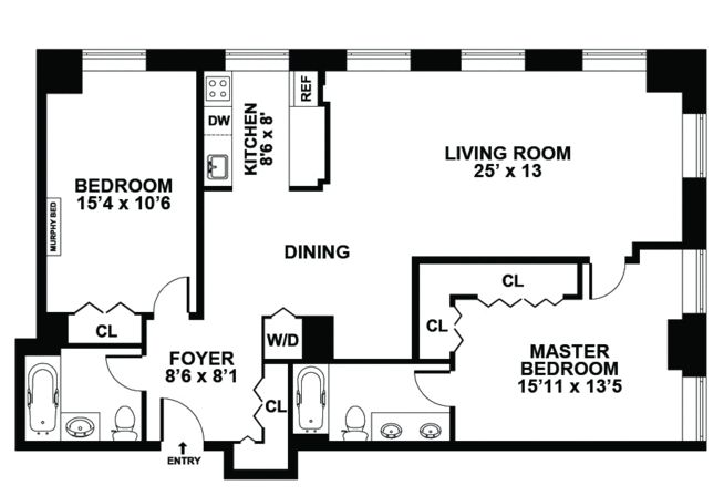 24 best images about house designs on pinterest house for Floor plan design for 2 bedroom flat