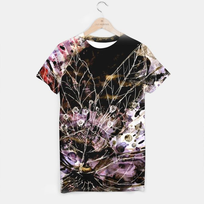 It turned to flower T-shirt