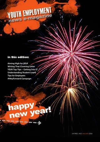 Youth Employment UK CIC e-Magazine January 2014