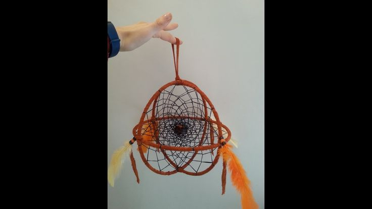 3D Dreamcatcher Interlocking Webs Tutorial