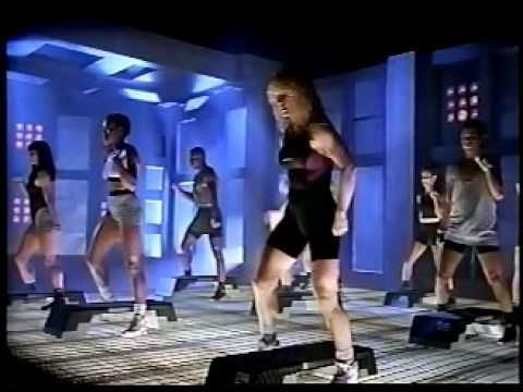 Step Reebok: The Video (1991) So cheesy, but actually a lot better than a lot of step videos. Going to do this tomorrow morning.
