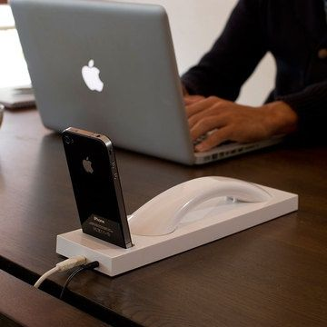 iPhone dock that turns it into a handset.