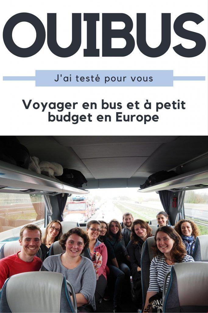 Voyager en bus et à petit budget en Europe avec Ouibus