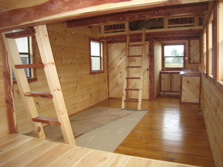 Tiny House on 14 X 32 Cabin Floor Plans