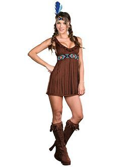Sexy Tribal Trouble Women's Indian Costume Indians Costume at Wholesale Prices