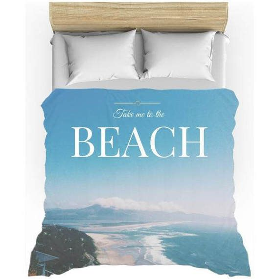 Ocean, Beach Bedding, Duvet Set, kids duvet set, toddler duvet sets, Beach Duvet Cover, fun kids bedding, personalized bedding, twin duvet  Nothing says home comfort better than a custom printed duvet cover. Choose a design that complements your bedroom décor, or a photograph of your favorite memories. Available in twin, queen and king bed sizes, cream back color, and lightweight material construction. The lightweight duvet covers are 100% microfiber (front and back).  Browse our shop for…