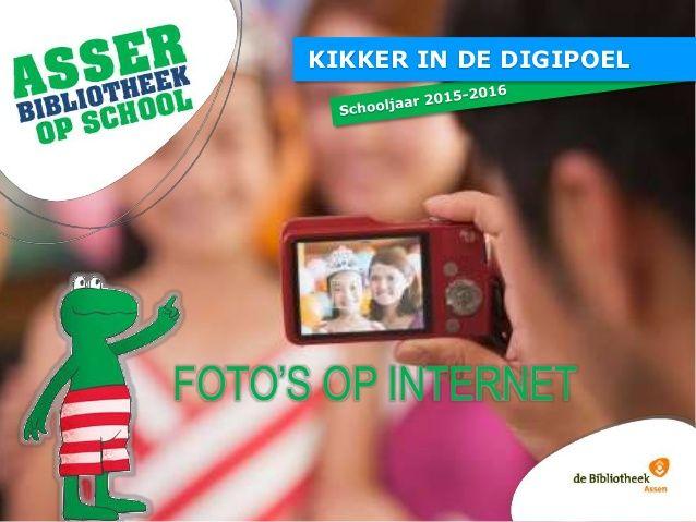 Kikker & foto's op internet | Digibord presentatie over foto's op internet