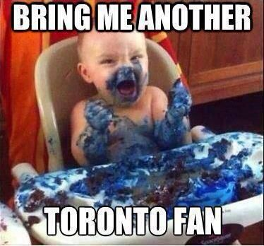 In response to the tasteless Toronto hockey fan who flashed a 'Toronto Stronger' sign.