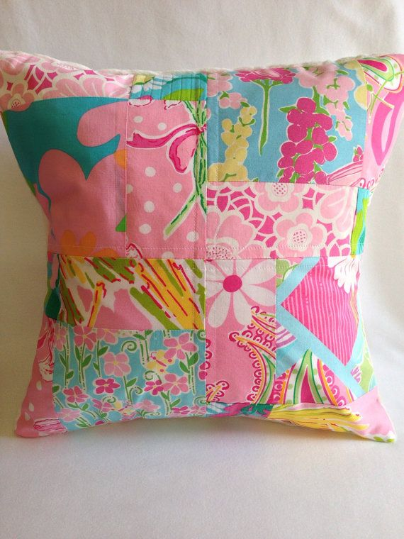 Lilly Pulitzer Throw Pillows October 2017